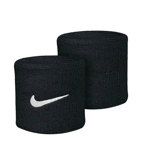 NIKE SWOOSH WRISTBANDS BLACK