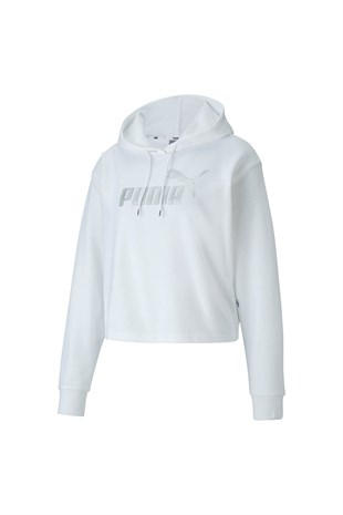 ESS+ Metallic Cropped Hoody TR