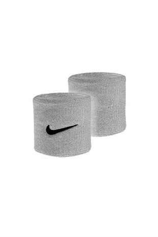 NIKE SWOOSH WRISTBANDS GREY HEATHER
