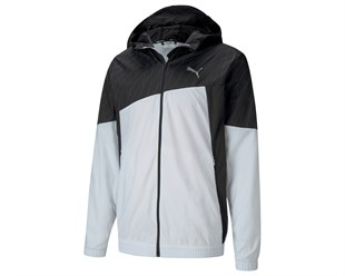 Run Graphic Hooded Jacket